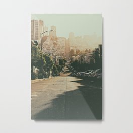 San Francisco-The Hills Metal Print