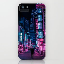 Stranger In The Night iPhone Case