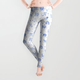 Blue Zodiac Leggings