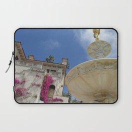 Castle fountain Laptop Sleeve