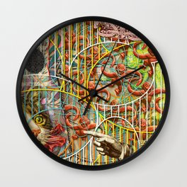 Prioritizing the Preservation of Favoured Struggles: Our Mesmerizing Bucket of Worms (2) Wall Clock