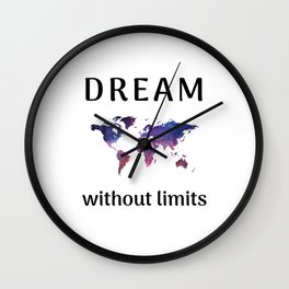 DREAM without limits Wall Clock