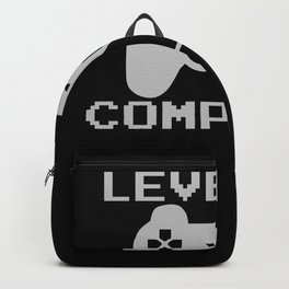 Gamer Level 19 Birthday Shirt Gift Backpack