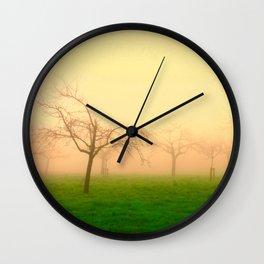 Morning Fog  - JUSTART © Wall Clock