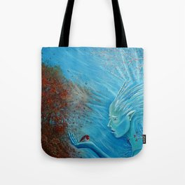 The Herald of Winter Tote Bag