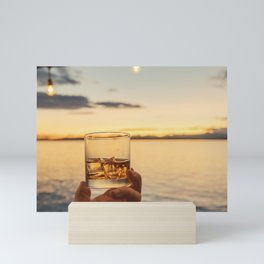 Cheers to the Sea Mini Art Print