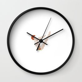 Swimmer Wall Clock