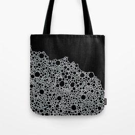 Black and White Foam Tote Bag