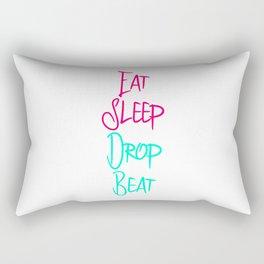 Eat Sleep Drop Beat Fun High Pitch Rectangular Pillow