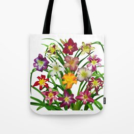 Display of daylilies II Tote Bag