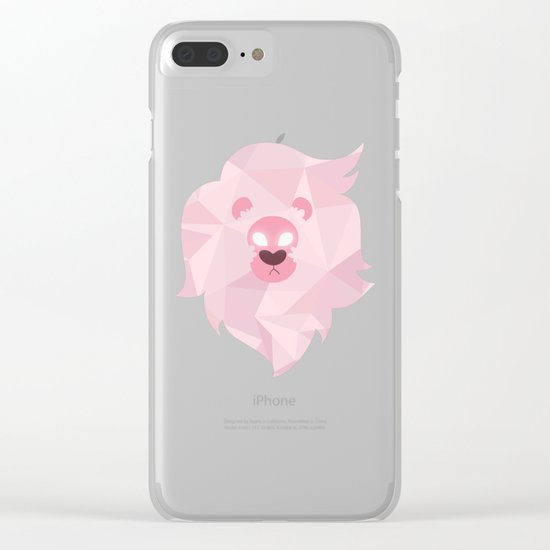 Lion - Steven Universe Clear iPhone Case