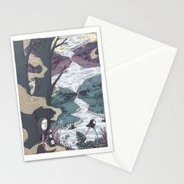 micro sleep part two Stationery Cards