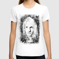 kurt cobain T-shirts featuring 27 Club - Cobain by MUSENYO