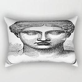 GOD face Rectangular Pillow