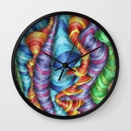Dr Suess Wall Clock