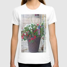 Flowers & Flags T-shirt