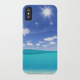 Sunny Sea iPhone Case
