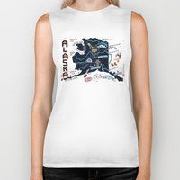 alaska Biker Tanks featuring ALASKA by Christiane Engel