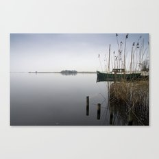 The silence of the Lake Canvas Print