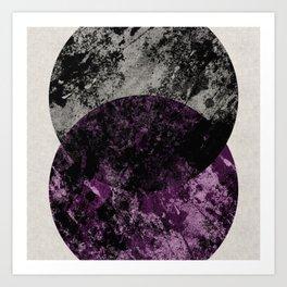 Collision 1 Art Print