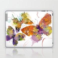 3 farfalle Laptop & iPad Skin