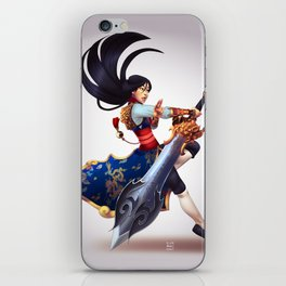 mulan iPhone Skin