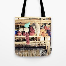 Textile Series - Yarn Tote Bag