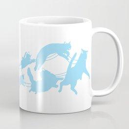 Meowy Catmas Sleigh Coffee Mug