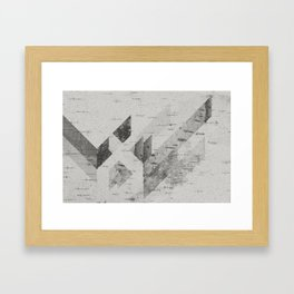 My First ♥♥ Framed Art Print