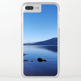 blue waters of Loch Ness Clear iPhone Case