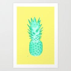 I love Pineapples #2 Art Print