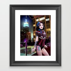 Velvet Rope Framed Art Print