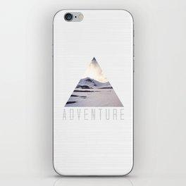 mountain adventure iPhone Skin
