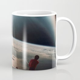 Golfers In Space Coffee Mug