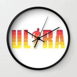 Ultra Running Wall Clock