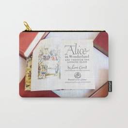 Alice in Wonderland 3 Carry-All Pouch