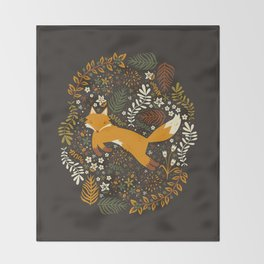 Fox Tales Throw Blanket