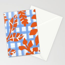 Leaves pattern  Stationery Cards