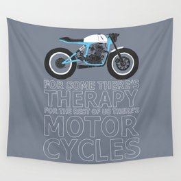 motorcycles Wall Tapestry