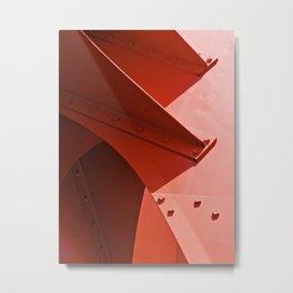 CALDER FIVE Metal Print