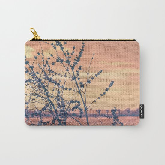 Imperfect Beauty (Beginning of Spring, California Countryside Farm) Carry-All Pouch