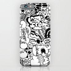 patchwork iPhone 6s Slim Case