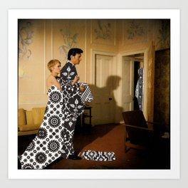 Gowns Art Print