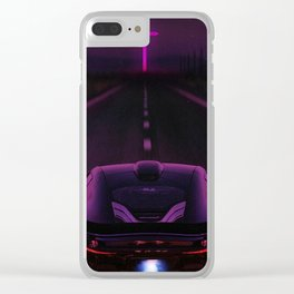 Starboy Inspired Fan Art Clear iPhone Case