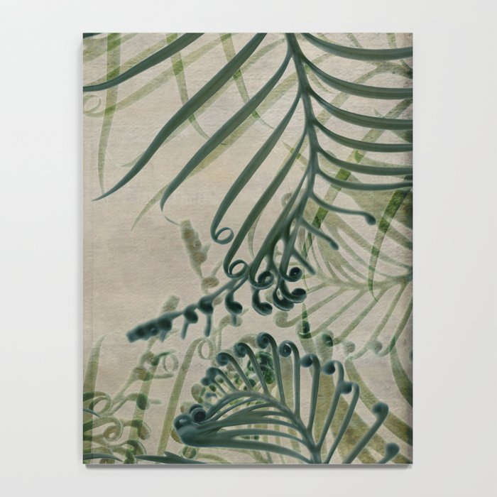 Cycas Leaves Abstract Notebook