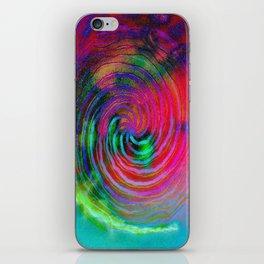 Colorful galaxy iPhone Skin
