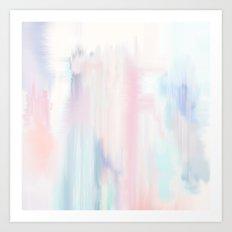 Marble Wash Art Print