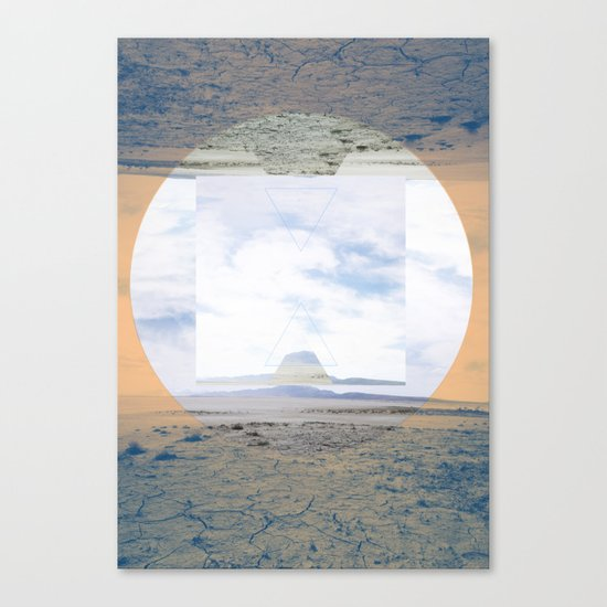 seamlessly run Canvas Print