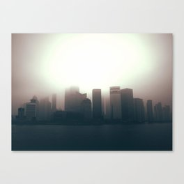 The Sun Also Rises in the Peoples' Republic Canvas Print