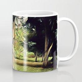 Trees In Surrealism Art Coffee Mug
